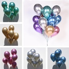 10/20/30pcs 12inch Gold Sliver Black Latex Balloons Wedding Decorations Adult Helium Ballons Birthday Party Kids Toy