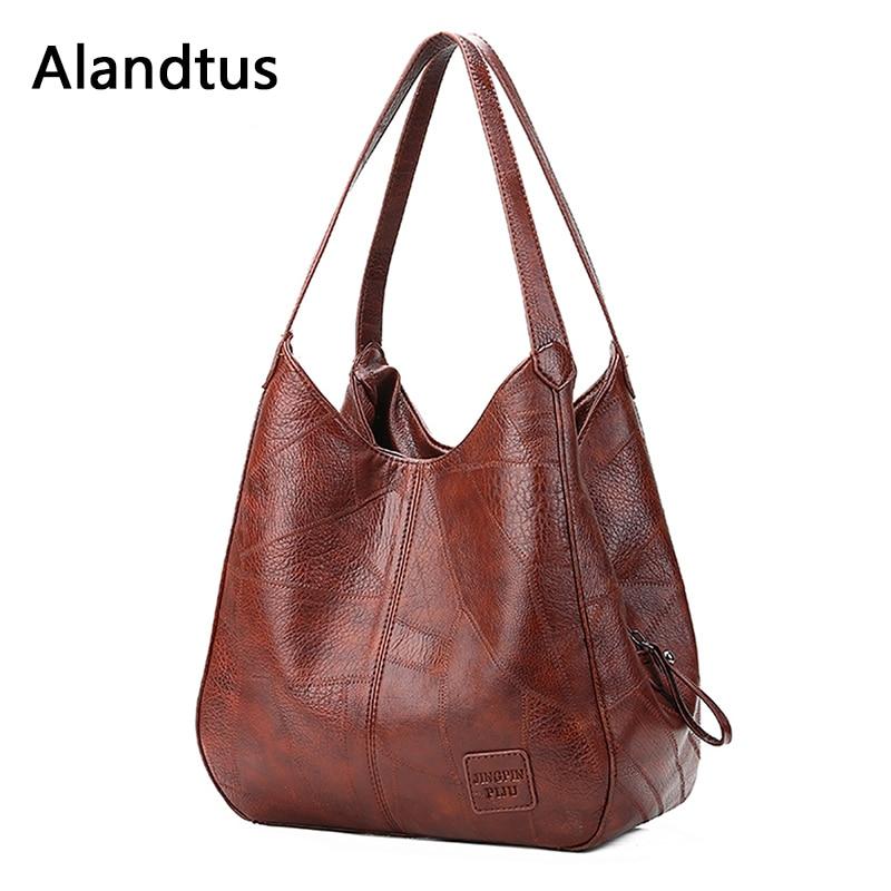 Tecido de Algodão Saco Mulheres Desleixo Hobo Bag