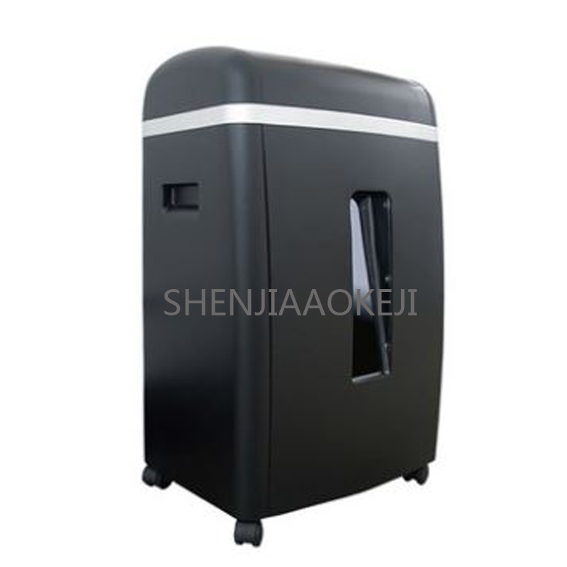 SD9355D Mini shredder Office electric shredding paper Pin nail CD easy to carry Mute 220V