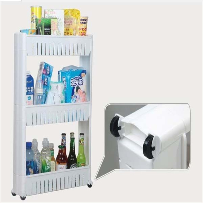 Aliexpresscom Buy Movable Kitchen Storage Rack Slide Out - Kitchen storage racks shelves