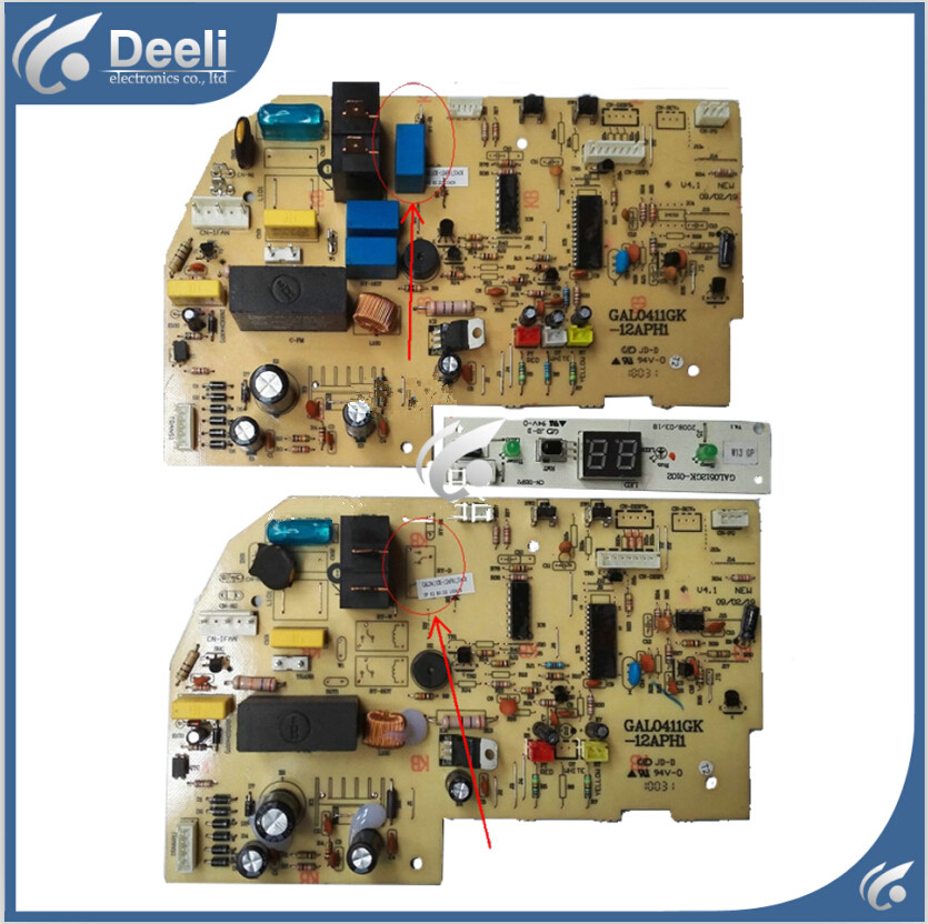95% new for air conditioning Computer board GAL0411GK-12APH1 circuit board GAL0512GK-0102 set 95% new for galanz air conditioning computer board gal0903gk 01 display panel gal0512gk 0102 set