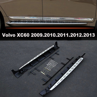 Car Running Boards Side Step Bar Pedals For Volvo XC60 2009 2010 2011 2012 2013 Brand