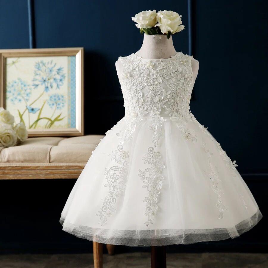 IMT004 E-Marry Pageant   Dresses   for Little   Girls   Scoop Tank Sleeveless Lace Ball Gowns   Flower     Girl     Dresses   Prom   Dresses   Children