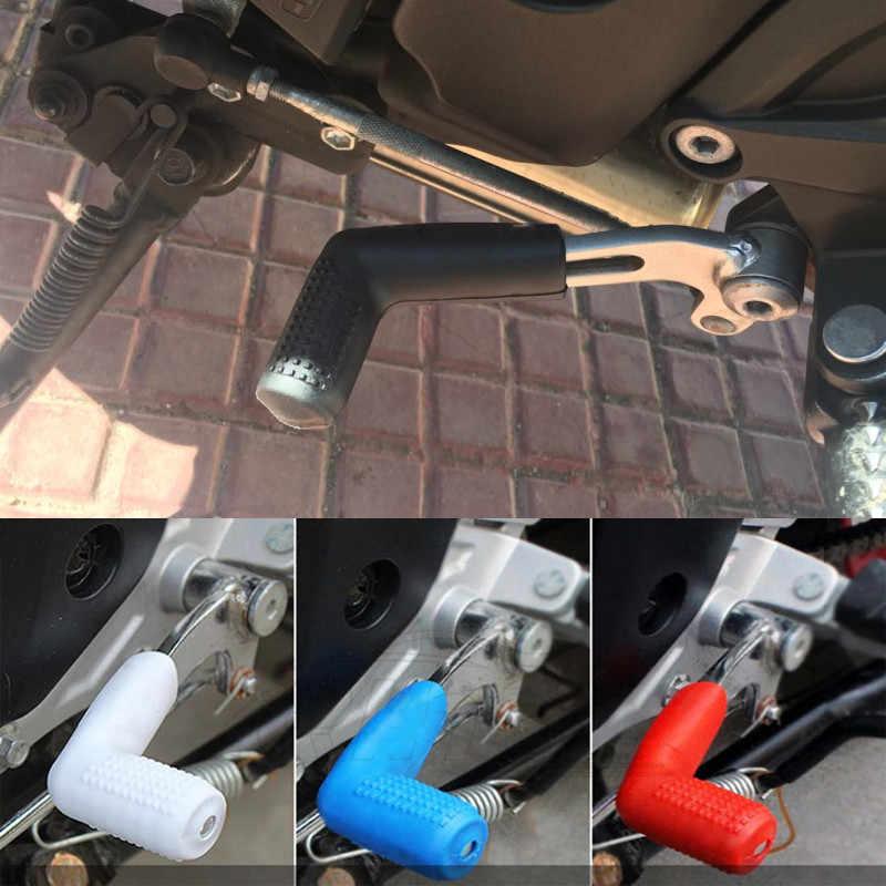 ユニバーサルオートバイアクセサリーギアシフター靴プロテクターケースカバーシフトレバー保護モトパーツゴムバイクブーツ