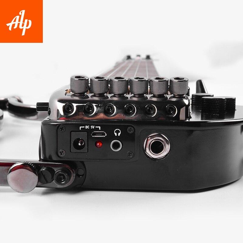 ALP Headless Travel E-Gitarre Special AD121 Tremolo Reisegitarre - Musikinstrumente - Foto 2