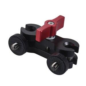 """Image 2 - Andoer trípode Magic Arm montaje de cámara 1/4 """"tornillo para cámara campo Monitor luz LED para vídeo Audio grabadora Cámara jaula"""