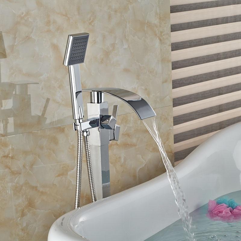 Aliexpresscom Buy Single Handle Free Standing Bathroom