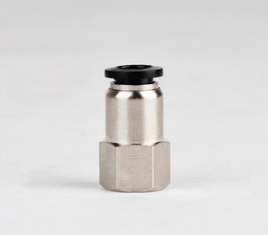 Female Straight Connector Imperial British Standard Tube OD 3/8 to NPT 1/8 1/4 3/8 1/2 Thread Push In To Connect Fitting 2pcs 1 2 npt male thread x 1 2 12 7mm od tube double ferrule tube fitting connector npt stainless steel 304