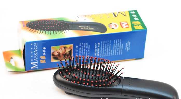 Available Sale Price Electric Vibrative Hair comb brush Body head Massager Comb Brush drop shipping