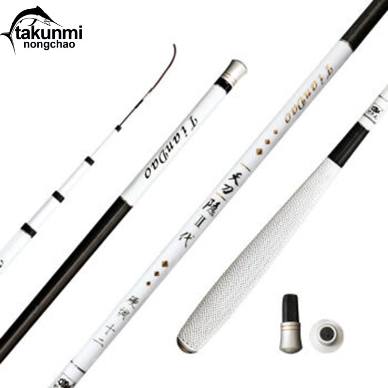NEW Ultralight Hard Stream Hand Pole Carbon Fiber Telescopic Casting Fishing Rods Fish Tackle 3.6/3.9/4.5/4.8/5.4 Meters ZG-124 стоимость