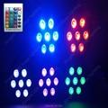 (8pcs) American DJ Wireless remote control 7x12W LED Stage Wash Uplighting Machinery