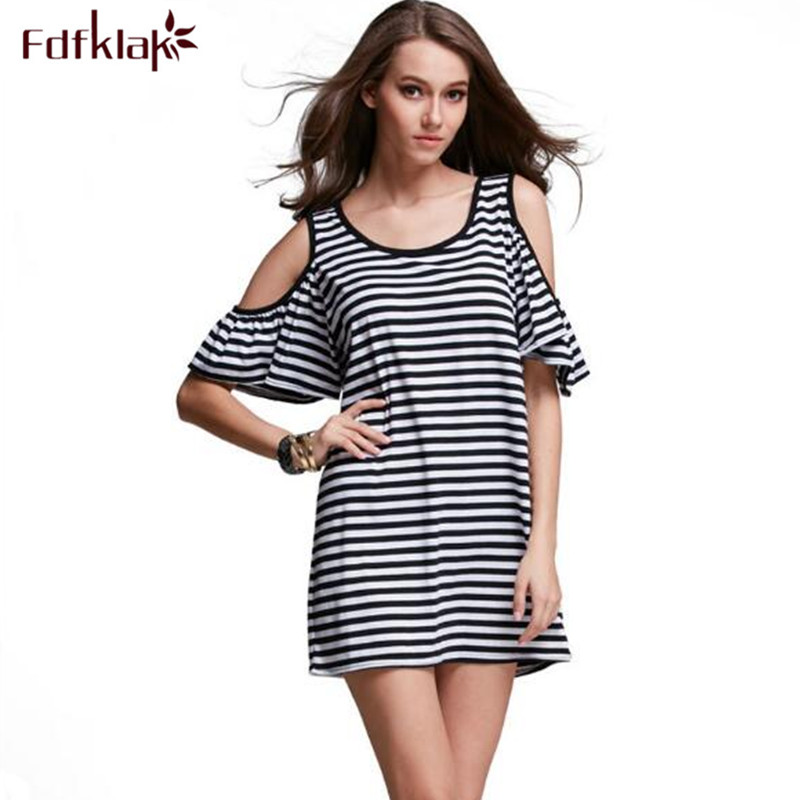 944a9b8601e7f زائد الحجم صيف nightskirt sleeepshirts القطن ثوب قصير الأكمام قمصان أنثى  النوم فساتين xxxl E0094
