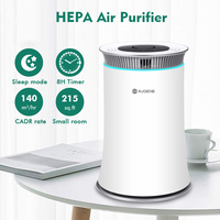 AUGIENB True HEPA Air Purifier Filter Ionizer Ion Filter PM2.5 Odor Smoke Dust Air Cleaner for Smokers Allergies Eliminator