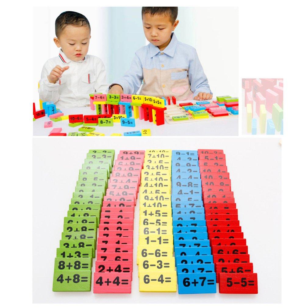 110pcs Montessori Educational Toy Wooden Math Toys ...