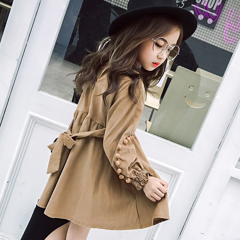 Long Sleeve Girls Dress Toddler Girl Teenage Girls Clothes Spring Autumn Winter Princess Dress 5 6 8 10 12 14 years Kids Dress kids dress autumn girls princess dresses korean teenage baby girls dress cotton long sleeve bow children costume 6 8 10 12 years
