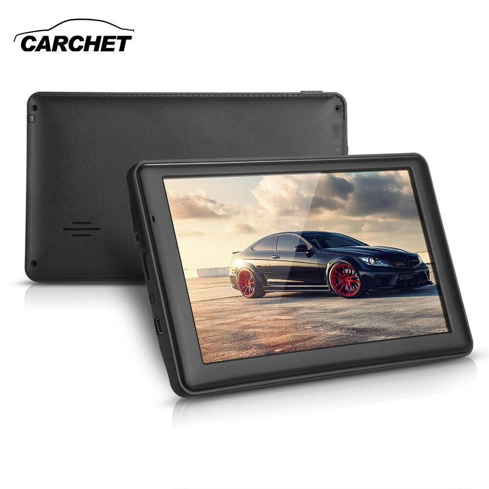 CARCHET Car 7.0 TFT Capacitive GPS Navigation 128MB RAM 8GB Game FM Australia Map AU