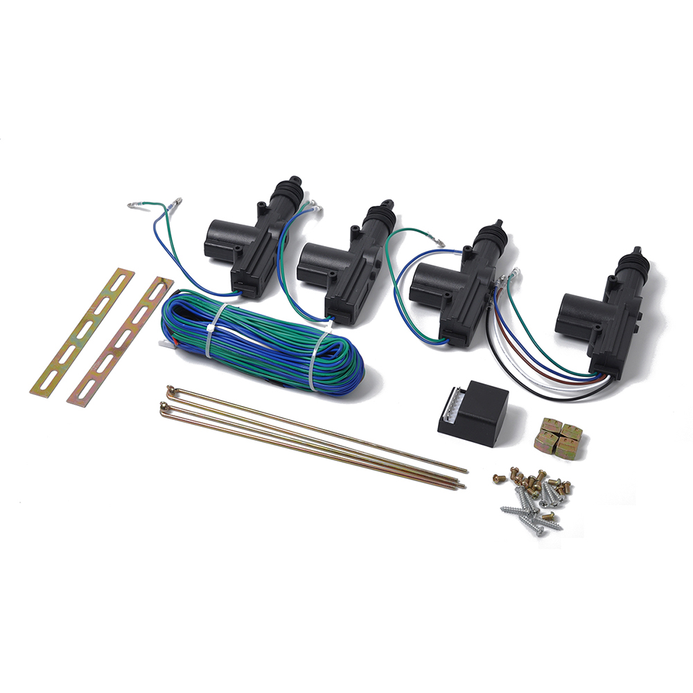 New 12V 4 Universal Power Door Lock Actuator Kit Keyless 2 wires & 5 wires  Auto Locking System Motor Central Lock High Quality-in Locks & Hardware  from ...
