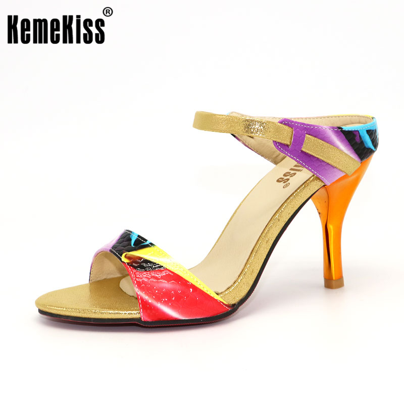 KemeKiss Free shipping high heel sandals fashion women dress sexy female platform shoes slippers P13799 hot sale EUR size 31-44 free shipping candy color women garden shoes breathable women beach shoes hsa21