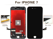 Free DHL 2pcs 100 No Dead Pixel alibaba china tianma For iPhone 7 LCD Display With