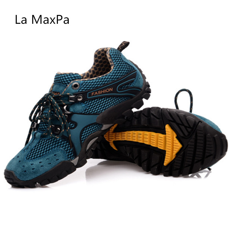 size 35-46 new Outdoor men Sneakers women Breathable Running Shoes Men Sport Shoes woman Walking Anti-skid Off-road Trainers 2016 new fashion couple sport casual shoes men women spring summer portable breathable anti skid leisure shoes size 35 44
