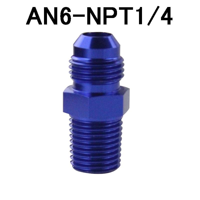 "AN8 AN-8 3//8/"" NPT Flare Tee T-piece Fitting Adapter Black"