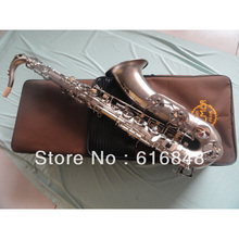 Wholesale– Copy Henri selmer Drop B adjustment tenor saxophone musical instruments Reference 54 Ma Nickel