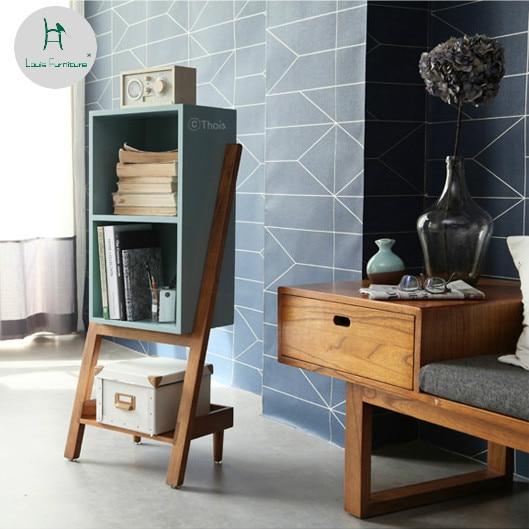 Louis Fashion Bookcases Simple Modern European Style Wood