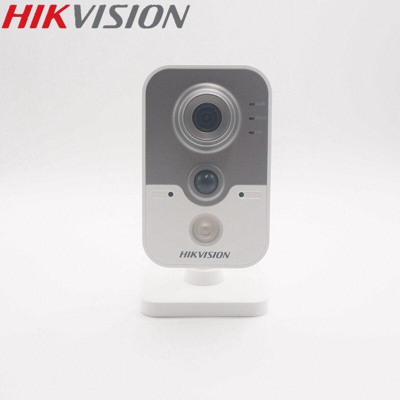 HIKVISION DS-2CD2442FWD-IW Version internationale 4MP IR Cube caméra IP PoE microphone et haut-parleur intégrés EZVIZ hik-connect