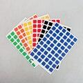 6 Unidades de Matorrales PVC DIY Pegatinas para 57mm 3x3x3 Velocidad Cubo Mágico Rompecabezas Educativos juguetes para Niños Niños
