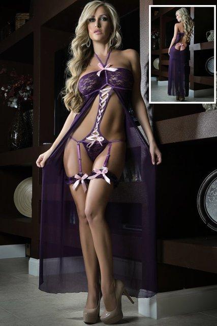 Elegant lingerie models