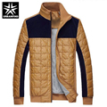 URBANFIND Men Brand Fashion Jacket Autumn Spring Coats Size M-3XL Patchwork Design Man Casual Winter Outerwear