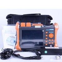 OTDR TMO-300-SM-A OTDR 1310/1550nm 30/28 дБ, интегрированный VFL, сенсорный экран, оптический временной домен, рефлектометр