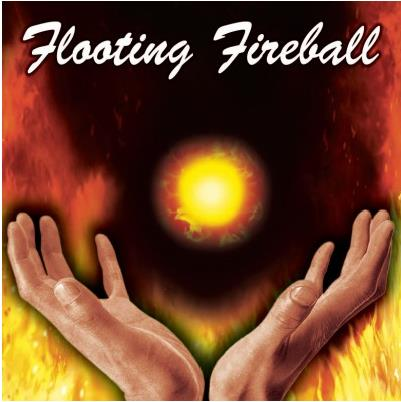 Wholesale 5pcs/lot Floating Fireball (Gimmick + DVD) - Fire magic trick,stage,close up,classic,mentalism,illusion,Accessories
