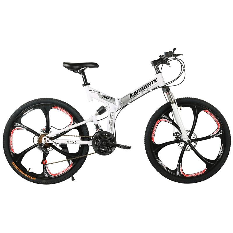 26 pouces 27 vitesses VTT avant et arrière amortisseur vitesse hommes et femmes vélo adulte pliant VTT vélo