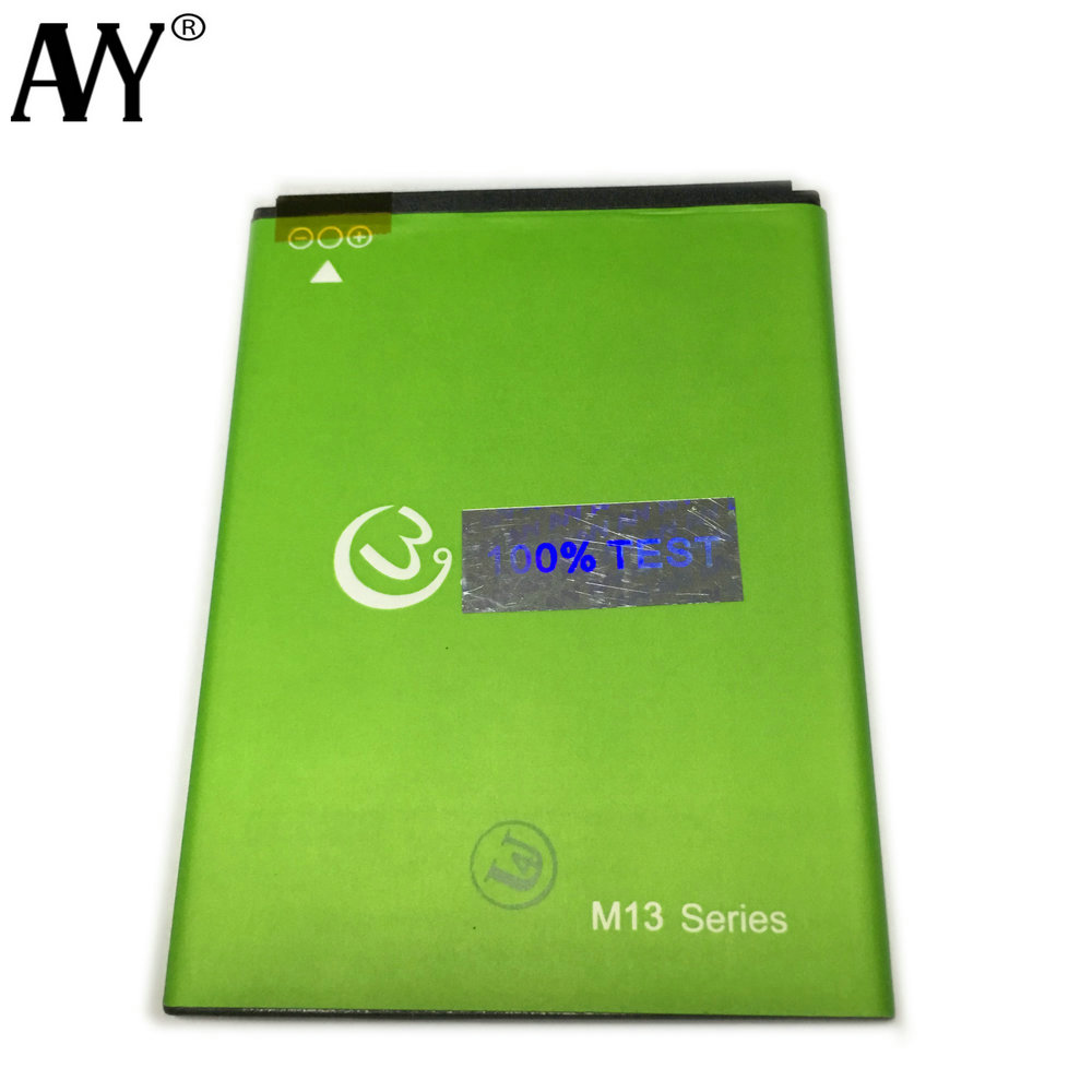 AVY Battery for Gooweel M13 Plus 2800mAh Mobile Phone Replacement Batteries Li-on Bateria 100% Tested In stock+Tracking Number