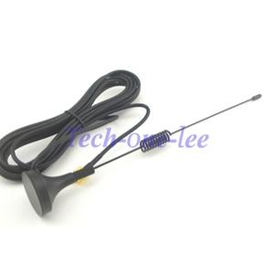 Image 5 - 10 peças/lote gprs gsm antena 900 1800 mhz 3dbi 3m cabo sma masculino magnético base de controle remoto