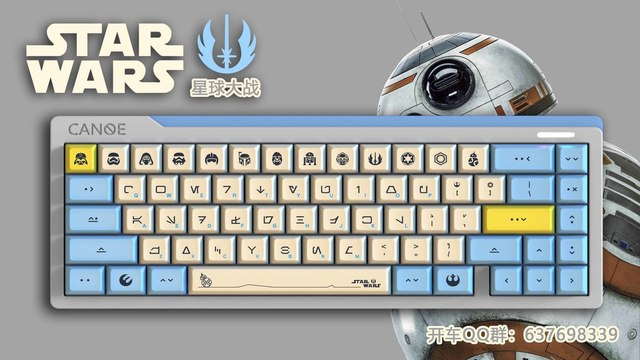 US $12 59 10% OFF|1 set DSA Dye Sublimation PBT Mechanical Keyboard Key  Caps Godspeed Colour Matching For Star Wars Theme Imitate Canvas  Typeface-in
