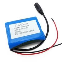 12 V 2600 MAh Lithium Ion Battery 12 6 V To 11 1 V CCTV Cameras