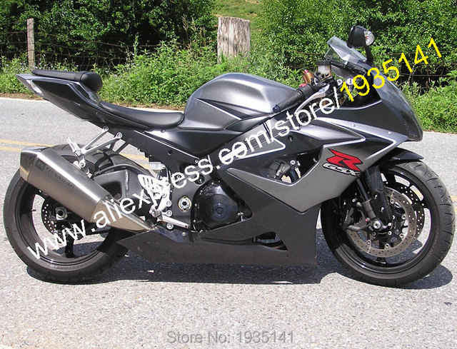 US $350 55 5% OFF|Hot Sales,For Suzuki GSXR1000 2005 2006 K5 GSX R1000 05  06 Black Gray Aftermarket ABS Motorbike Fairing Set (Injection molding)-in
