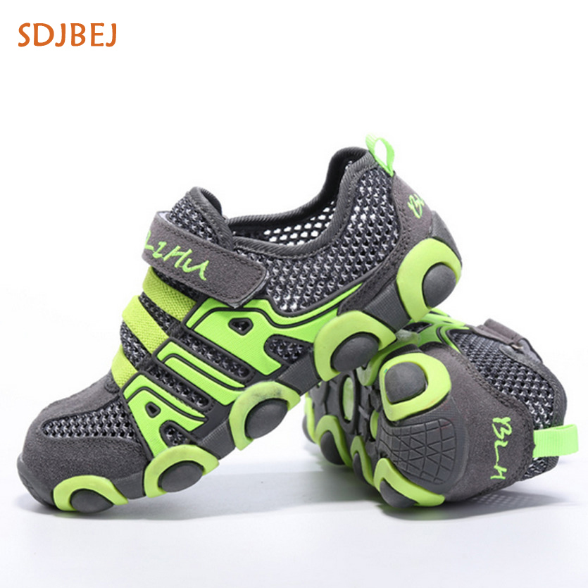 2018 Summer Sports Kids Shoes Mesh Boys Sneakers School Running Shoes Boy Sneakers Comfortable Children Casual Shoes
