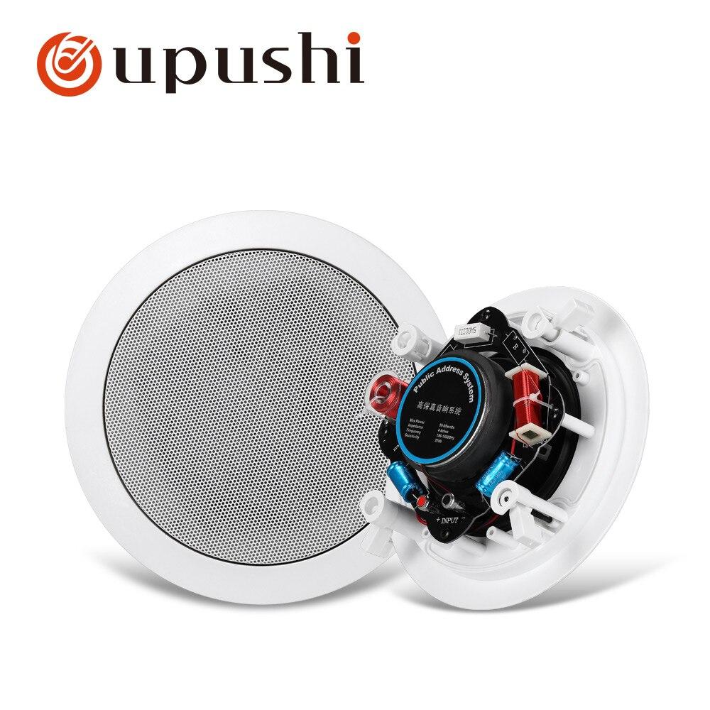 Oupushi KS818 In Wand Decke Lautsprecher 10 W-30 W PA System Heimkino Hintergrund Musik System