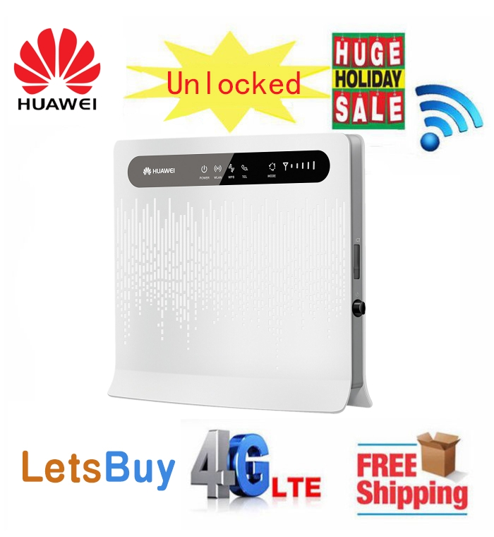 Unlocked Huawei B593s 22 CAT4 Wifi Router 4G 3G Sim Card slot b593 150mbps lte Router