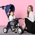 Moda Cochecito de Bebé Bici Bicicleta Portátil, Marco De Aleación De Aluminio Y la Rueda Neumática