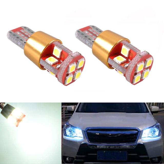 2x T10 W5W LED עמילות אור סמן מנורת הנורה Canbus שגיאת משלוח עבור סובארו אימפרזה legacy xv פורסטר אאוטבק טרייבקה פיאט