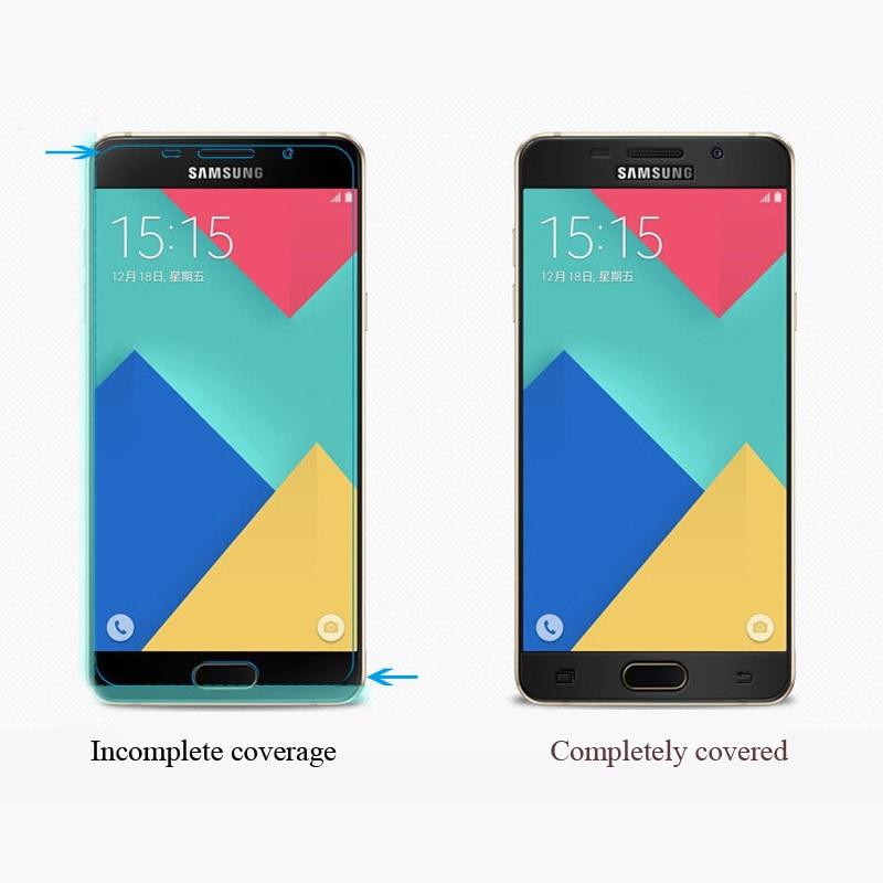 სრული ყდა Tempered Glass for Samsung Galaxy A5 2017 - მობილური ტელეფონი ნაწილები და აქსესუარები - ფოტო 4