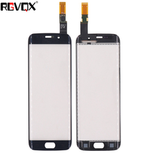 G925 Touch Screen Digitizer For Samsung Galaxy S6 Edge G9250 G925F Touch Sensor Glass Panel Replacement Repair Part black touch screen digitizer glass lens for samsung galaxy s4 active mini gt i8580 replacement repair part with tools