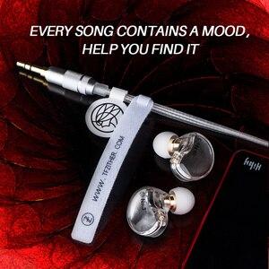 Image 3 - TFZ NO.3 ב אוזן אוזניות דינמי נהג סופר בס רעש מבטל אוזניות Dj סטריאו אוזניות 0.78mm 2Pin להסרה כבל