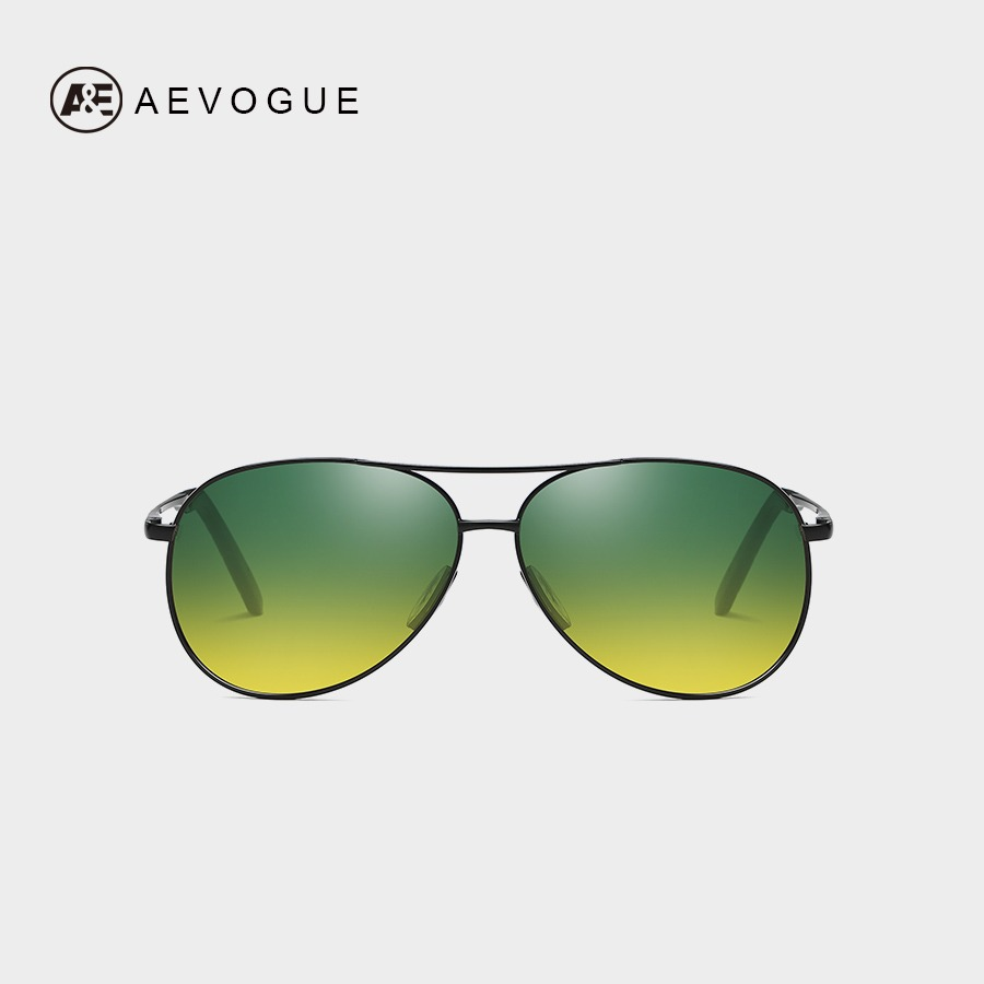 8327957a3e AEVOGUE noche visión polarizado gafas de sol hombres/mujeres Polit  Anti-glare de conducción