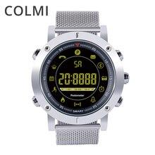 Esporte Relógio Inteligente EX19 COLMI Profissional Passometer Como Pulseira Inteligente para iOS Android Smartwatch À Prova D' Água 5ATM Homens Mulheres