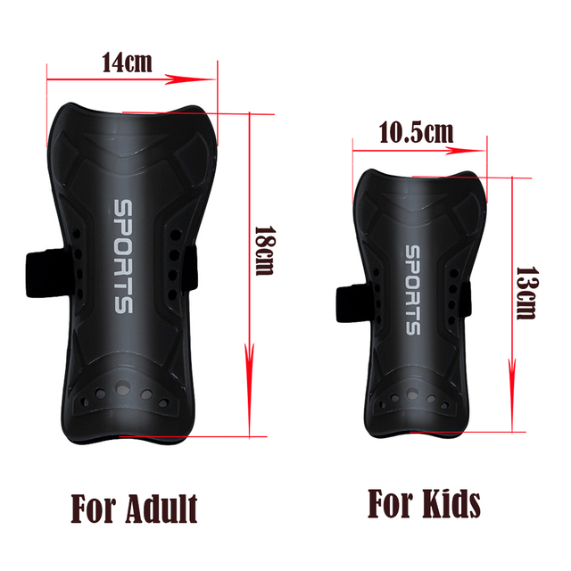 1 Pair Sports Safety Shin Guard Soccer Adult Children's Leg Shields Football Leg Support Protector Shin Pads Breathable
